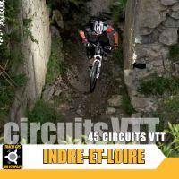 VTOPO Indre et Loire, 45 idées de parcours VTT.