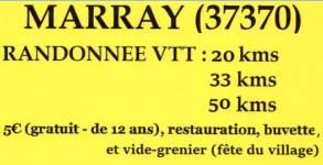 Compte rendu randonnée VTT de Marray2016