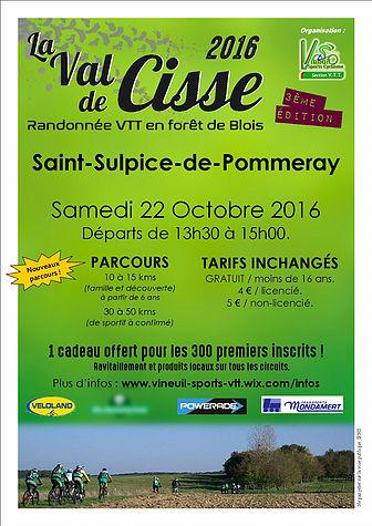 C.R rando VTT «la Val de Cisse» 2016 à  St Sulpice dePommeray