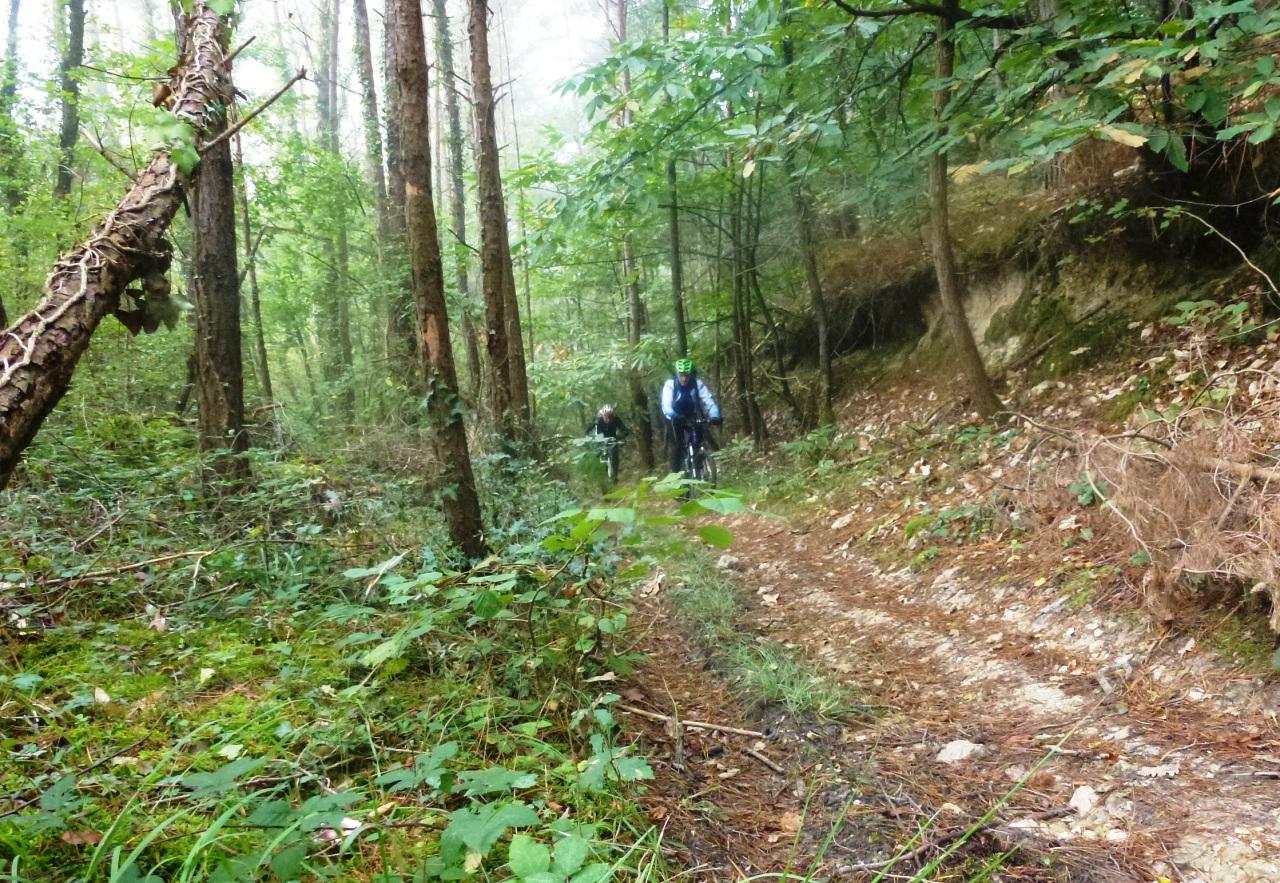 Retour de la randonnée de Rivarennes 2016, «la Poire Tapée», parcours de73km.