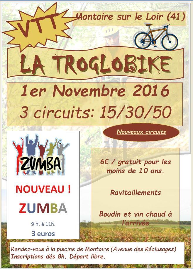 C.R rando VTT Troglobike 2016 de Montoire-sur-Loir (41)