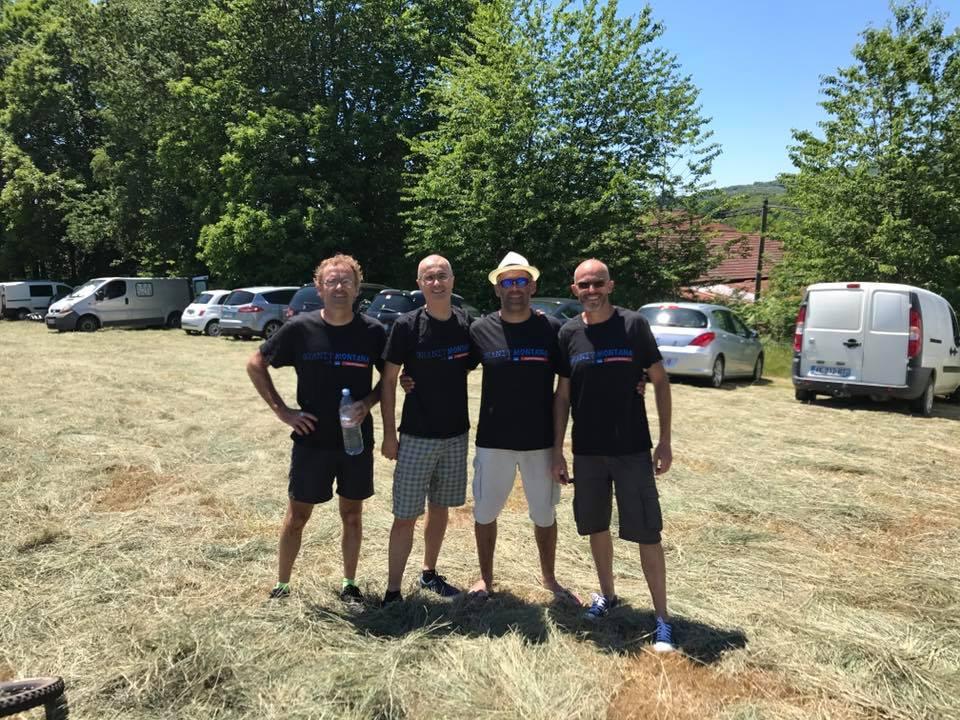 C.R granit Montana 2017 à Ambazac (87), on commence par le 58km pour notre 1ère participation. Physique ettechnique.