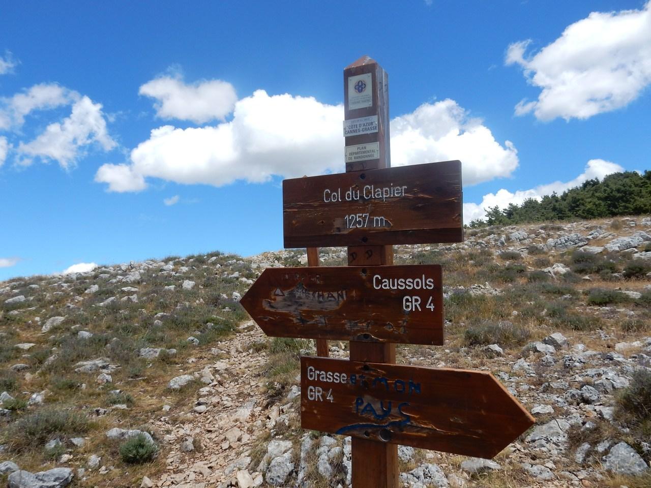 1ère expérience en  VTT sur les massifs des les Alpes Maritimes(06).