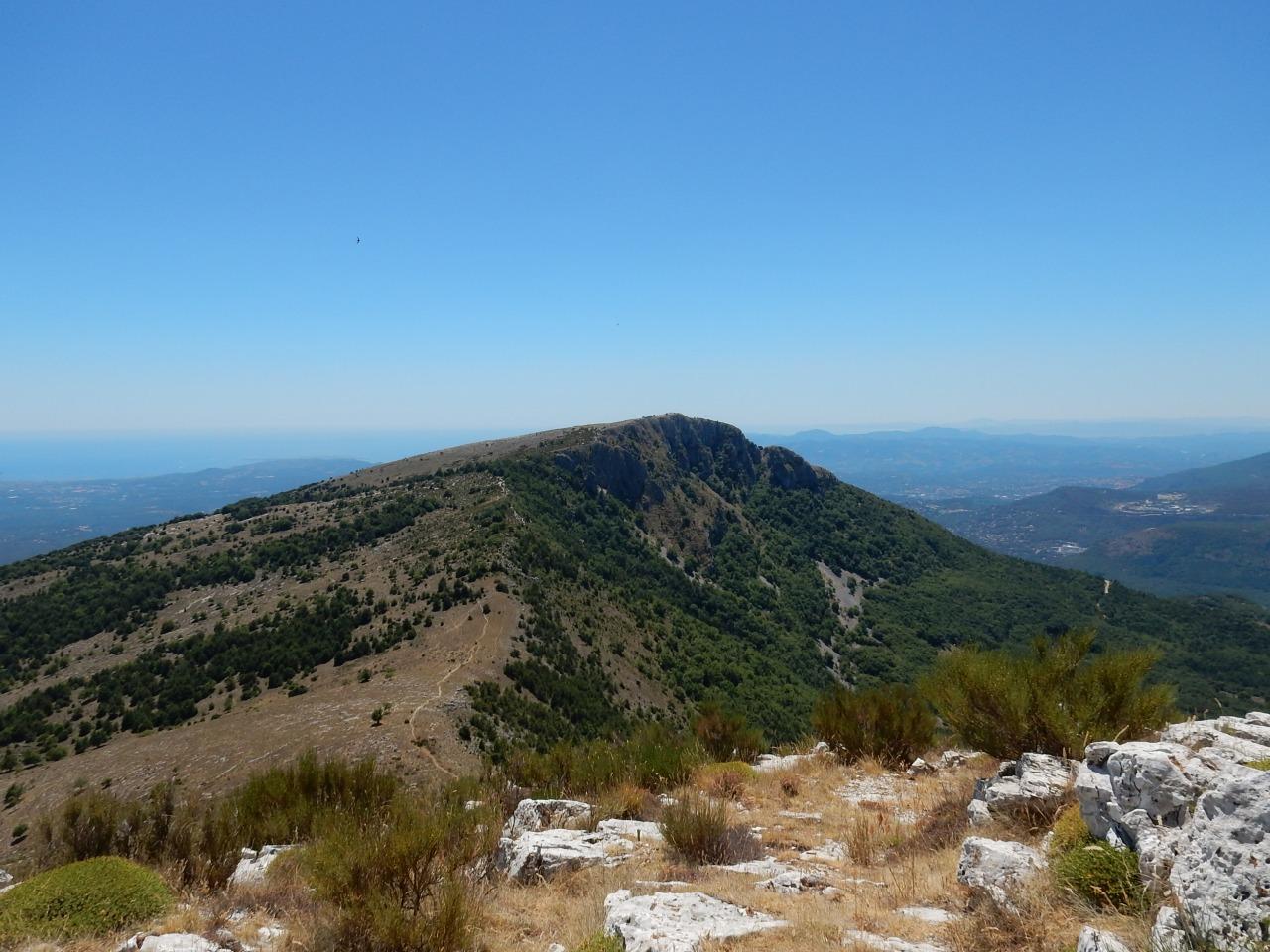 Sortie marche de 18km, le puy des Tourrettes (06), découverte de la descente de Pramafan à faire aussi enVTT.