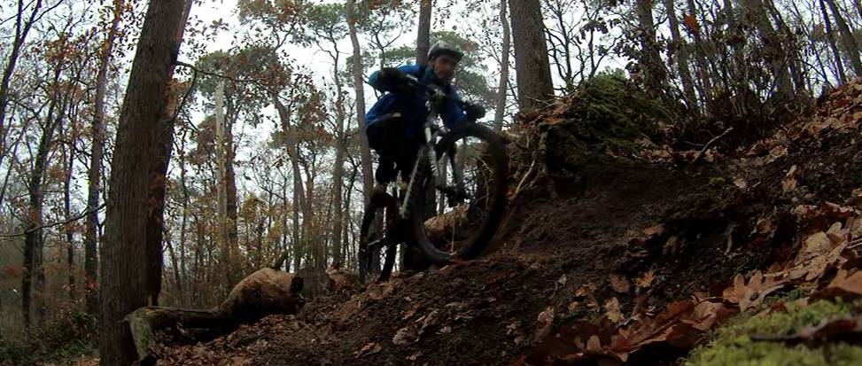 Petite session VTT bois de Grandmont à Tours(37).