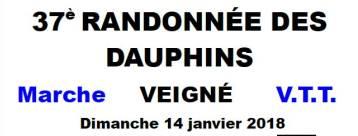 De la glisse pour la rando VTT des Dauphins de Veigné (37), encore pas mal de boue, c'était le 14 janv.2018