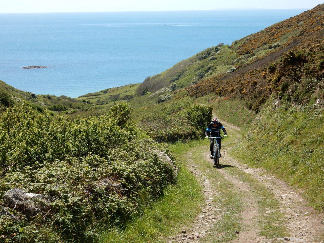 Une semaine pour découvrir le Contentin en VTT, 2ème étape boucle à et à ouest de Cherbourg-Octeville de80km