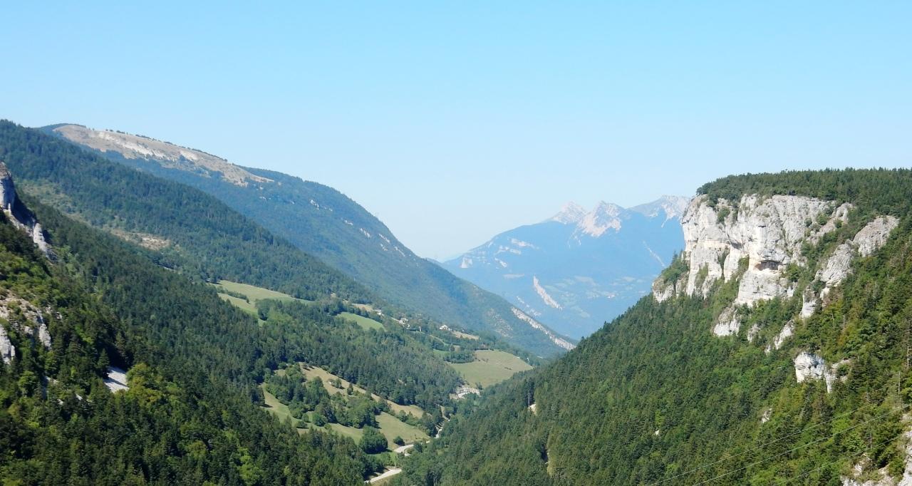 Découverte du Vercors,  Lans-en-Vercors : topo de notre sortie sur deux beaux sites derandonnée.