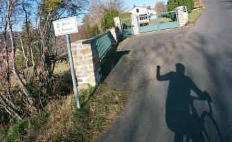 Montée vers le hameau de la Brosse
