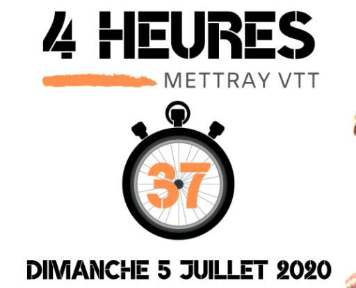 4H37 VTT de Mettray (37) le 05 juillet 2020, le club restemobilisé.