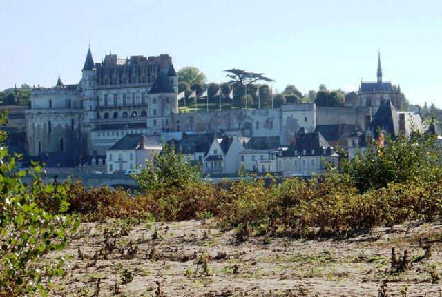 Loire à vélo entre Tours et Amboise. Petites variantes possible pour ne rienlouper