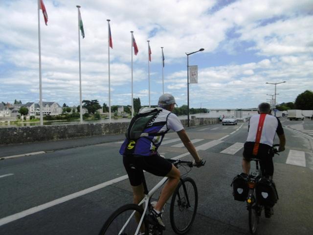 Loire à vélo, Bréhémont- St Brévin les pins et retour/ 540km en 4jours